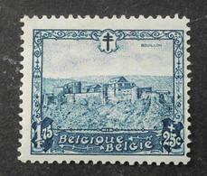 1930 : Cob 313*  : Bouillon  (  Charnière D2) Voir Verso - Ungebraucht
