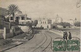 X120554 ALGERIE ALGER LE BOULEVARD FRONT DE MER LIGNE DE TRAM TRAMWAY - Algeri