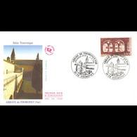 FDC JF - L'Abbaye Du Thoronet, Oblit 6/7/96 - 1990-1999