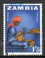 ZAMBIE. N°12 Oblitéré De 1964. Tabac. - Tabak