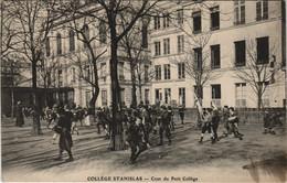 CPA PARIS 6e College STANISLAS Cour Du Petit College (560874) - Education, Schools And Universities