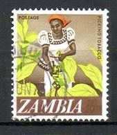 ZAMBIE. N°44 Oblitéré De 1968. Tabac. - Tabak