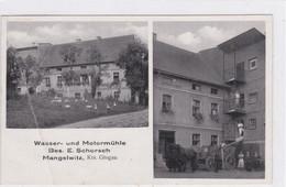 DC1973- Ak Wasser- Und Motormühle Glogau Ehem.dt Gebiete,preußischer Landkreis In Schlesien,Powiaten Głogowski, Nowosols - Polonia