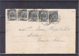 Belgique - Carte Postale De 1903 ? - Oblit Louvain Station - Vue De L'ecole Des Beaux - Arts à Paris - 1893-1907 Armarios