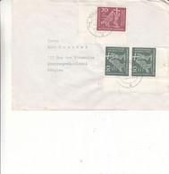 Allemagne - République Fédérale - Lettre De 1960 - Oblit Nürnberg - Pigeons - Religieux - - Brieven En Documenten
