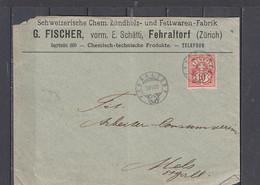 SVIZZERA  1905 - Lettera  Commerciale - Covers & Documents