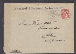 SVIZZERA  1902 - Lettera  Commerciale - Covers & Documents