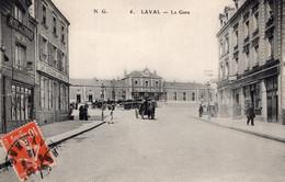 7229 Cpa 53 Laval - La Gare - Laval
