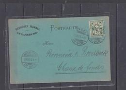 SVIZZERA  1900 -cartolina  Commerciale - Covers & Documents
