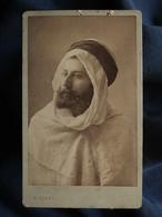 Photo CDV C. Klary à Alger -  Portrait Homme Occidental En Costume Local (AFN), Circa 1890 L555 - Oud (voor 1900)