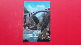 Fran Pavlin.Vintgar.Zeleznicni Most V Vintgarju.Railway Bridge - Slovenië