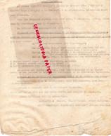 87- LIMOGES- GUERRE 1939-1945- MUR - RESISTANCE-  ARCHIVE GASTON HILAIRE ALIAS LEONIE-VICHY ET GESTAPO-PETAIN- - Guerra 1939-45