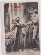 -CPA -LES PORTUGAIS EN FRANCE-M. CLEMENCEAU ET LE GENERAL TAMAGNINI - Personnages