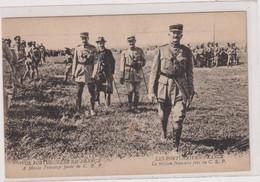 -CPA -LES PORTUGAIS EN FRANCE-LA MISSION FRANCAISE PRES DU C.E.P.-  1914 - Régiments