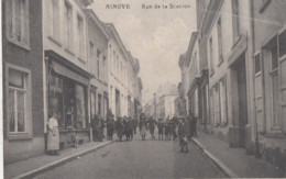 NINOVE / STATIONSTRAAT / RUE DE LA STATION  1919 - Ninove