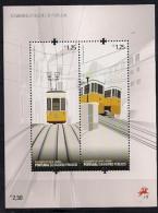 2010 Portugal Mi. Bl 299**MNH Aufzüge Und Bergbahnen. - Unused Stamps