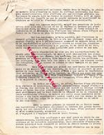 87- LIMOGES- GUERRE 1939-1945- MUR - RESISTANCE-  ARCHIVE GASTON HILAIRE ALIAS LEONIE- LIBERATION LA NATION - War 1939-45