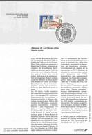 1993 Notice Philatélique - Abbaye De La Chaise-Dieu - Documenti Della Posta