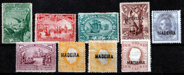 MADEIRA  SMALL  MH/UNUSED SELECTION OLD STAMPS - Madeira