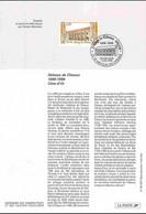 1998 Notice Philatélique - Abbaye De Citeaux - Documenti Della Posta