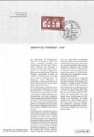 1996 Notice Philatélique - Abbaye Du Thoronet - Var - Documenti Della Posta