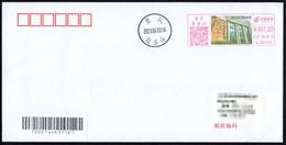 China Postage Machine Meter:Revolutionary Relics-Chongqing Negotiation Exhibition Hall - Brieven En Documenten