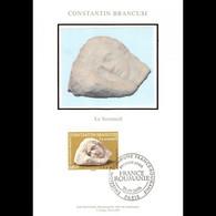 CM Soie - France / Roumanie, Sculpture Le Sommeil - 25/9/06 Paris - 2000-09