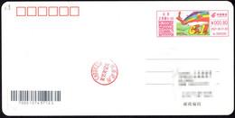 China Postage Machine Meter:Children's Day, Kite, Rainbow, Flowers,balloon - Brieven En Documenten
