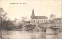 Dépt 41 - PRUNIERS-EN-SOLOGNE - Le Pont Et L'Église - (Édition Cholet, à Pruniers) - Other Municipalities