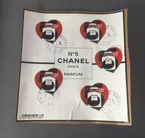 2021 Bloc Cœur Oblitéré Sur Fragment - Used Stamps