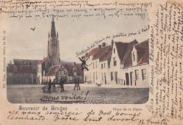 BRUGGE / WALPLEIN   1900  PRECURSEUR - Brugge