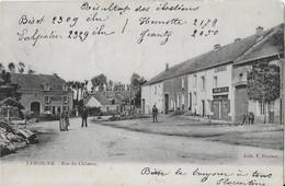JAMOIGNE ..-- Rue Du CHATEAU . 1904 Vers LAMBUSART ( Mr COLINET GOFFINET ) . Voir Verso . - Tintigny