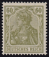 147 Germania 60 Pf Postfrisch ** - Unclassified