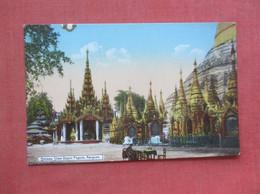 Shrines Shwe Dagon Pagoda Rangoon  Myanmar (Burma)   Ref  4975 - Myanmar (Burma)