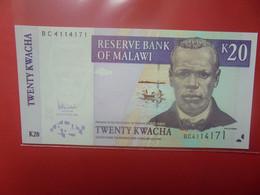 MALAWI 20 KWACHA Peu Circuler/Neuf (B.23) - Malawi