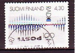 1996. Finland. Radio-100. Used. Mi. Nr. 1345. - Usados