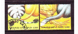 1999. Finland. Valentine's Day. Used. Mi. Nr. 1463-64. - Usados