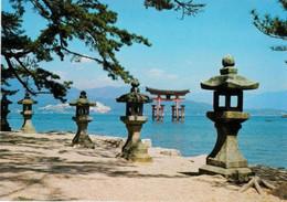 Japon  Miyajima Hiroshima  Porte De Torji Temple De Itsukushima  TBE - Hiroshima