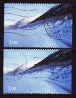 1999. Finland. Roads. Used. Mi. Nr. 466 A+C - Usados