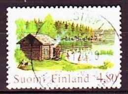 1999. Finland. Sauna & Lake. Used. Mi. Nr. 1484. - Usados