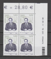 FRANCE / 2011 / Y&T N° 4628 ** : Gaston Monnerville X 4 - Coin Daté 2011 09 08 - TD 201 - 2010-....