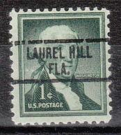 USA Precancel Vorausentwertung Preo, Locals Florida, Laurel Hill 734 - Precancels