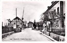 CPSM 5938 BONCOURT Frontière Franco-suisse édition Perrochet Lausanne Neuve - Dogana