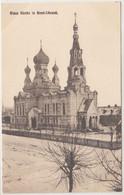 Brest Litowsk Blaue Kirche 1917 - Bielorussia