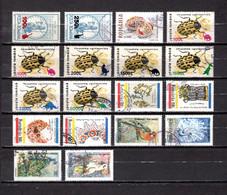 Rumanía   1999  .-  Y&T Nº   4522/4523-4524-4525/4531-4532/4535-4536/4539 - Used Stamps