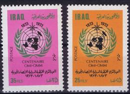 Iraq 1973 W.M.O. World Meteorological Organization - Irak