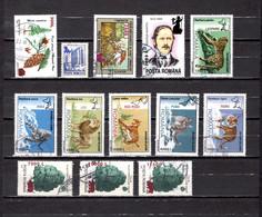 Rumanía   2000  .-  Y&T Nº   4635-4636-4637-4638-4639/4644-4645/4647 - Used Stamps