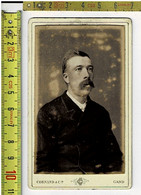 Kl 367 - Vieille Photo HOMME - Oude Foto MAN - Photographie : CORNAND & CIE GAND - Old (before 1900)