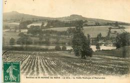 St Honoré Les Bains * LE SEU * Vue Sur La Vieille Montagne Et Montarchon - Saint-Honoré-les-Bains