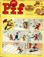 """Vaillant Le Journal De Pif  N°1182 - Récit Complet Des Pionniers De L'Espérance """"Les Oiseaux Poignards"""" - Vaillant"""